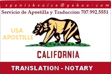 Apostille service, California legalization of documents, same day service. Sergio Musetti Tel 707-992-5551 www.CaliforniaApostille.US