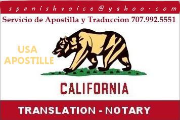 Apostille Service California Documents Legalization